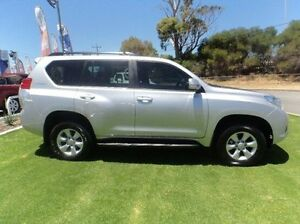 2011 Toyota Landcruiser Prado KDJ150R GXL Silver 5 Speed Sports Automatic Wagon Mandurah Mandurah Area Preview
