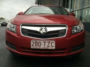 2011 Holden Cruze JG CD Red 5 Speed Manual Sedan Earlville Cairns City Preview