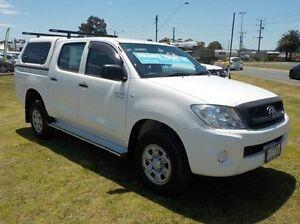2010 Toyota Hilux  White Automatic Utility Pakenham Cardinia Area Preview