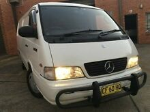 2003 Mercedes-Benz MB140 D White 5 Speed Manual Van Kings Park Blacktown Area Preview