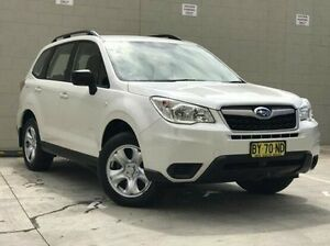 2014 Subaru Forester S4 MY14 2.5i Lineartronic AWD White 6 Speed Constant Variable Wagon Kings Park Blacktown Area Preview