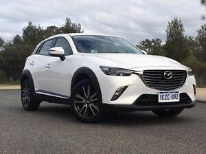 2015 Mazda CX-3 DK4WSA Akari SKYACTIV-Drive AWD White 6 Speed Sports Automatic Wagon Wilson Canning Area Preview