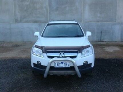 2010 Holden Captiva CG MY10 LX (4x4) White 5 Speed Automatic Wagon Seabrook Hobsons Bay Area Preview
