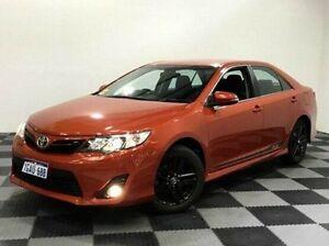 2014 Toyota Camry ASV50R RZ Orange 6 Speed Sports Automatic Sedan Edgewater Joondalup Area Preview