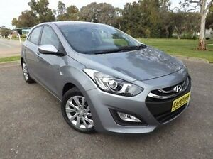 2014 Hyundai i30 GD2 Active Grey 6 Speed Sports Automatic Hatchback Old Reynella Morphett Vale Area Preview