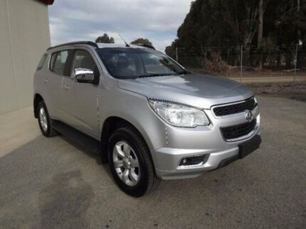 2016 Holden Colorado 7 RG MY16 LTZ Silver 6 Speed Sports Automatic Wagon