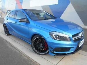 2014 Mercedes-Benz A45 W176 805+055MY AMG SPEEDSHIFT DCT 4MATIC Blue 7 Speed Bunbury Bunbury Area Preview