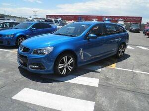 2015 Holden Commodore VF MY15 SV6 Sportwagon Blue 6 Speed Sports Automatic Wagon Gateshead Lake Macquarie Area Preview