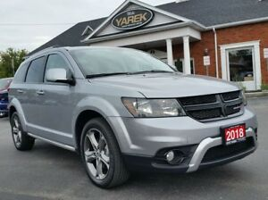 2018 Dodge Journey Crossroad AWD, DVD, NAV, 7 Pass., Heated Seat