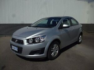 2013 Holden Barina TM MY13 CD Silver 5 Speed Manual Sedan Cooee Burnie Area Preview