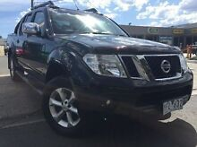 2011 Nissan Navara D40 MY11 ST-X 550 Black 7 Speed Sports Automatic Utility Dandenong Greater Dandenong Preview