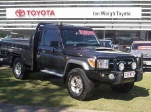 2010 Toyota Landcruiser VDJ79R MY10 GXL Grey 5 Speed Manual Cab Chassis Rockhampton Rockhampton City Preview