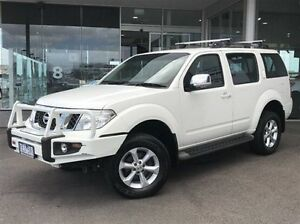 2010 Nissan Pathfinder R51 MY10 ST-L White 5 Speed Sports Automatic Wagon Morwell Latrobe Valley Preview