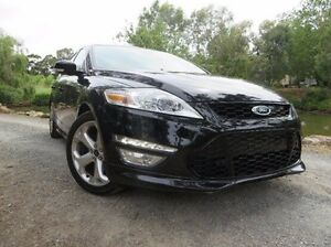 2012 Ford Mondeo MC Titanium PwrShift TDCi Black 6 Speed Sports Automatic Dual Clutch Hatchback Christies Beach Morphett Vale Area Preview