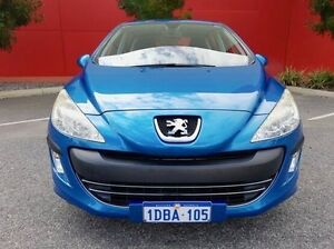 2009 Peugeot 308 T7 XS Blue 4 Speed Sports Automatic Hatchback Cannington Canning Area Preview