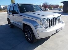2011 Jeep Cherokee KK MY11 Limited 70th Anniversary Silver 4 Speed Automatic Wagon Mitchell Bathurst City Preview