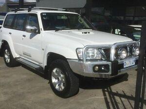 2013 Nissan Patrol Y61 GU 8 ST White 5 Speed Manual Wagon North Hobart Hobart City Preview