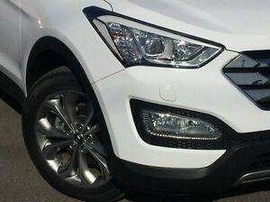 2013 Hyundai Santa Fe White Sports Automatic Wagon Hoppers Crossing Wyndham Area Preview