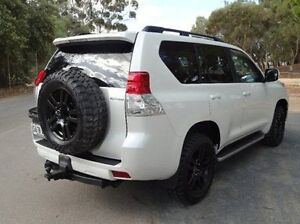 2010 Toyota Landcruiser Prado KDJ150R Kakadu White 5 Speed Sports Automatic Wagon Elizabeth Playford Area Preview