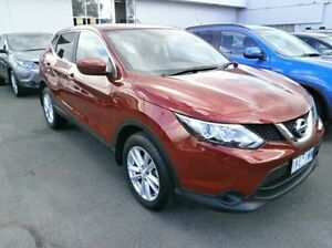 2016 Nissan Qashqai J11 TS Red 1 Speed Constant Variable Wagon Blackburn Whitehorse Area Preview