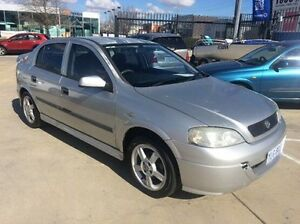 2002 Holden Astra TS Equipe City Silver 5 Speed Manual Hatchback Fyshwick South Canberra Preview
