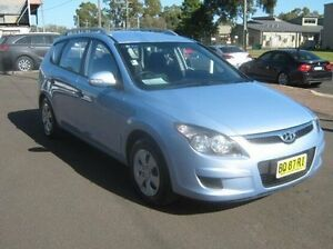 2011 Hyundai i30 FD MY11 SX cw Wagon Blue 4 Speed Automatic Wagon Dubbo Dubbo Area Preview
