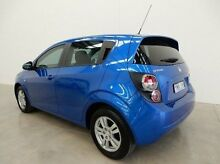 2012 Holden Barina TM MY13 CD Blue 6 Speed Automatic Hatchback Braeside Kingston Area Preview