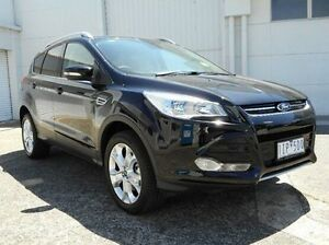 2016 Ford Kuga TF MY16.5 Trend AWD Black 6 Speed Sports Automatic Wagon Bundoora Banyule Area Preview