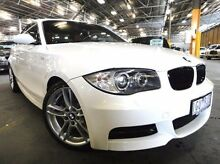 2009 BMW 135I E82 MY10 Sport Steptronic White 6 Speed Sports Automatic Coupe Port Melbourne Port Phillip Preview