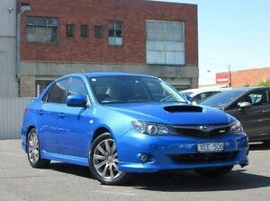 2009 Subaru Impreza G3 MY09 WRX AWD Blue 5 Speed Manual Sedan Preston Darebin Area Preview