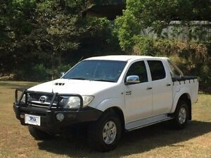 2010 Toyota Hilux KUN26R MY10 SR5 White 4 Speed Automatic Utility Albion Brisbane North East Preview