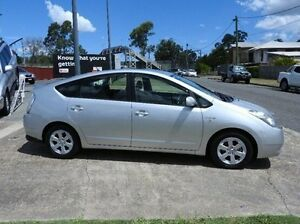 2008 Toyota Prius NHW20R Silver 1 Speed Constant Variable Liftback Hybrid Morningside Brisbane South East Preview