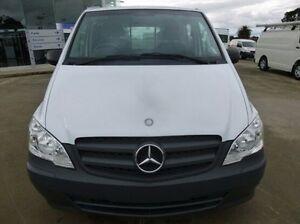 2011 Mercedes-Benz Vito 639 MY11 113CDI LWB White 6 Speed Manual Van Coburg North Moreland Area Preview