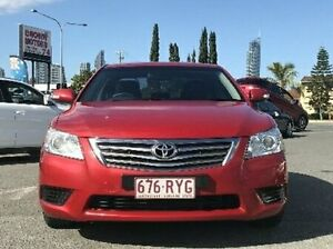 2011 Toyota Aurion GSV40R MY10 AT-X Red 6 Speed Sports Automatic Sedan