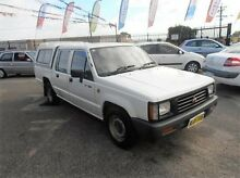 1997 Mitsubishi Triton MK GLX Double Cab White 5 Speed Manual Utility Wangara Wanneroo Area Preview