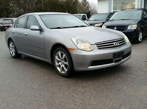 2005 Infiniti G35x Sedan (AWD) DRIVES GREAT!!!!