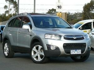 2013 Holden Captiva CG MY13 Silver 6 Speed Sports Automatic Wagon Diggers Rest Melton Area Preview