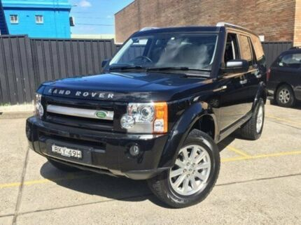 2009 Land Rover Discovery 3 Series 3 09MY HSE Santorini Black 6 Speed Auto Seq Sportshift Wagon Kings Park Blacktown Area Preview