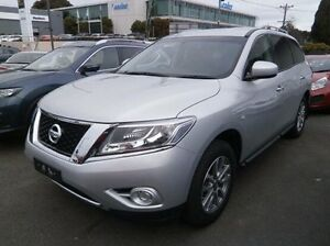 2016 Nissan Pathfinder R52 MY16 ST X-tronic 2WD Silver 1 Speed Constant Variable Wagon Blackburn Whitehorse Area Preview