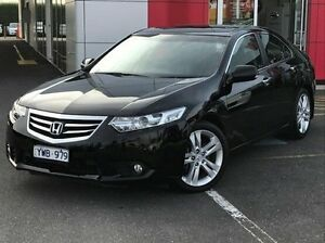 2012 Honda Accord Euro CU MY13 Luxury Navi Black 5 Speed Automatic Sedan Meadow Heights Hume Area Preview