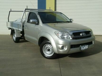 2010 Toyota Hilux TGN16R MY10 Workmate Gold 5 Speed Manual Cab Chassis Warragul Baw Baw Area Preview