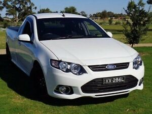 2012 Ford Falcon FG MkII XR6 Ute Super Cab Turbo White 6 Speed Manual Utility Elizabeth Playford Area Preview