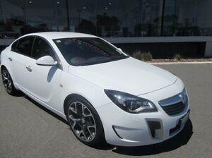 2015 Holden Insignia GA MY15.5 VXR AWD White 6 Speed Sports Automatic Sedan Mandurah Mandurah Area Preview