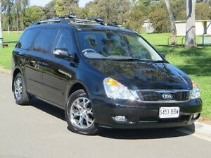 2013 Kia Grand Carnival VQ MY14 Platinum Black 6 Speed Sports Automatic Wagon Christies Beach Morphett Vale Area Preview