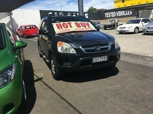 2004 Honda CR-V RD MY2004 Sport 4WD Winter Classic Black 4 Speed Automatic Wagon Maidstone Maribyrnong Area Preview