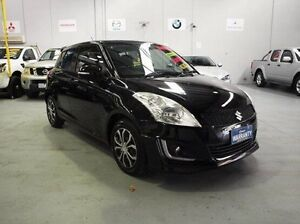 2014 Suzuki Swift FZ MY14 GL Navigator Black 4 Speed Automatic Hatchback Southbank Melbourne City Preview