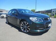 2013 Holden Commodore VF MY14 SV6 Green 6 Speed Sports Automatic Sedan Coolaroo Hume Area Preview