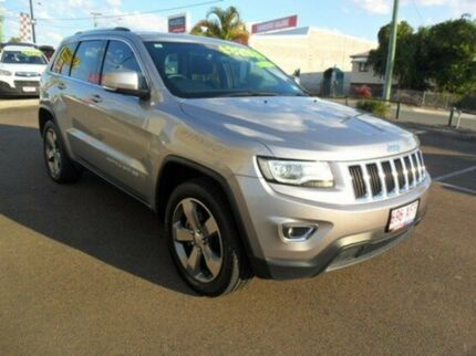 2013 Jeep Grand Cherokee WK MY2014 Laredo Silver 8 Speed Sports Automatic Wagon Gympie Gympie Area Preview