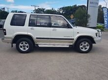 2001 Holden Jackaroo U8 MY01 SE White 5 Speed Manual Wagon Caloundra West Caloundra Area Preview