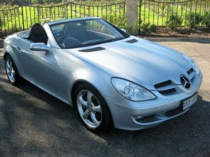 2006 Mercedes-Benz SLK280 R171 MY06 Silver 7 Speed Automatic Roadster Enfield Port Adelaide Area Preview